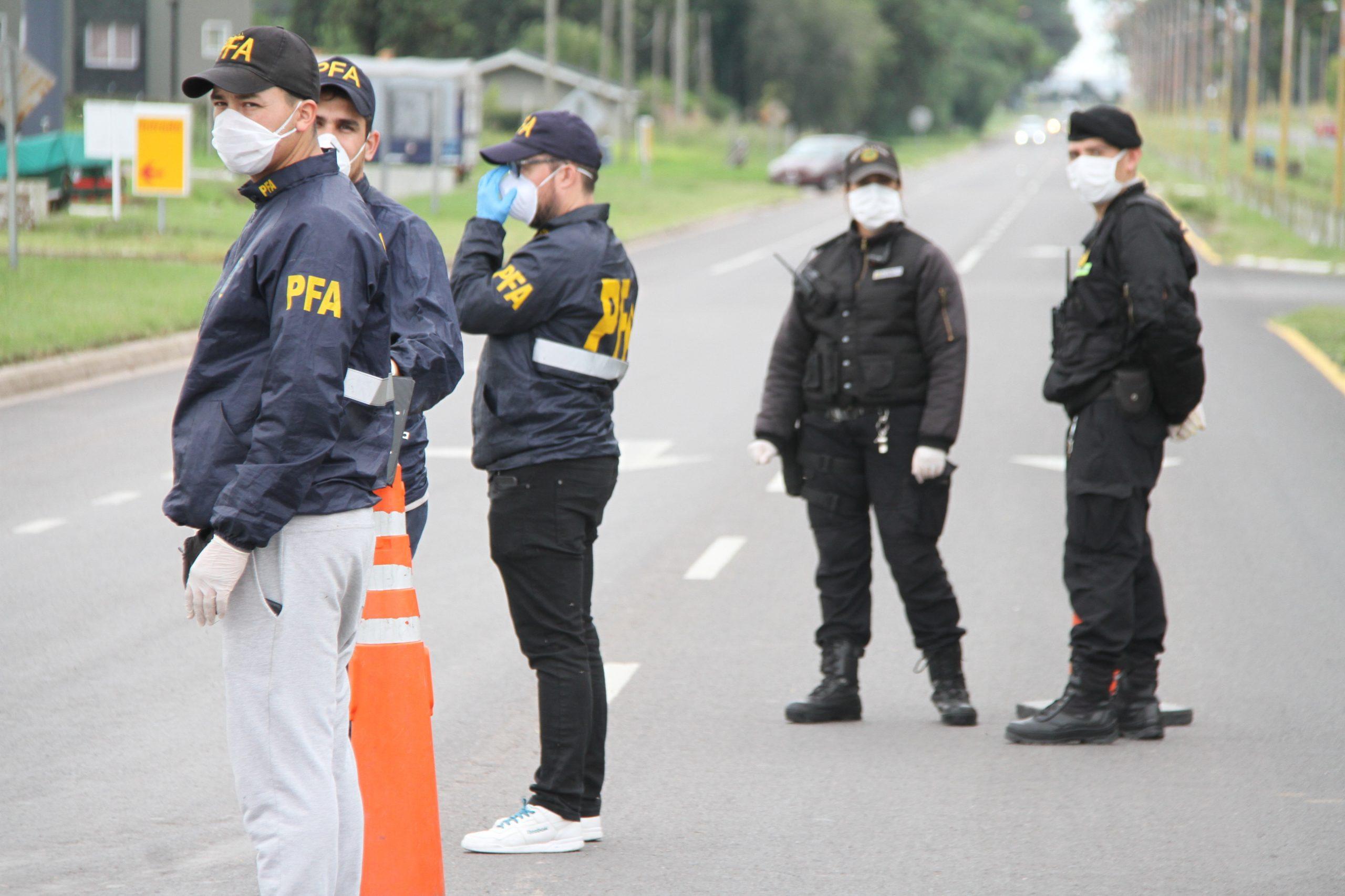 Policía de La Pampa y Federal realizan controles en los accesos a General Pico