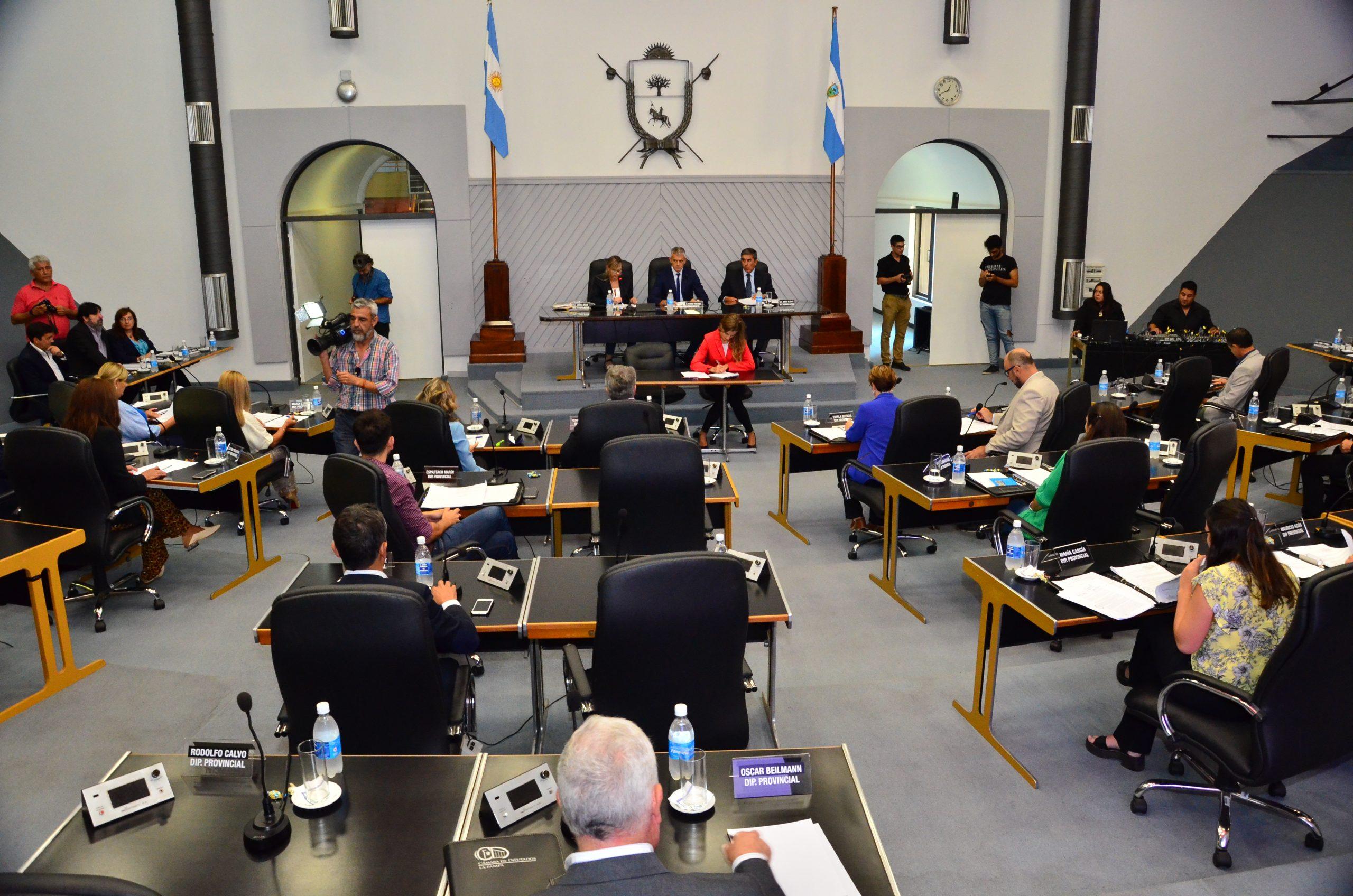 """Durante una sesión especial, la Cámara de Diputados adhirió al decreto provincial de """"Máxima alerta sanitaria"""""""