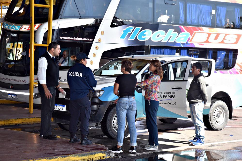 La Pampa sigue con cinco casos de Coronavirus y 81 personas que viajaron continúan siendo monitoreadas