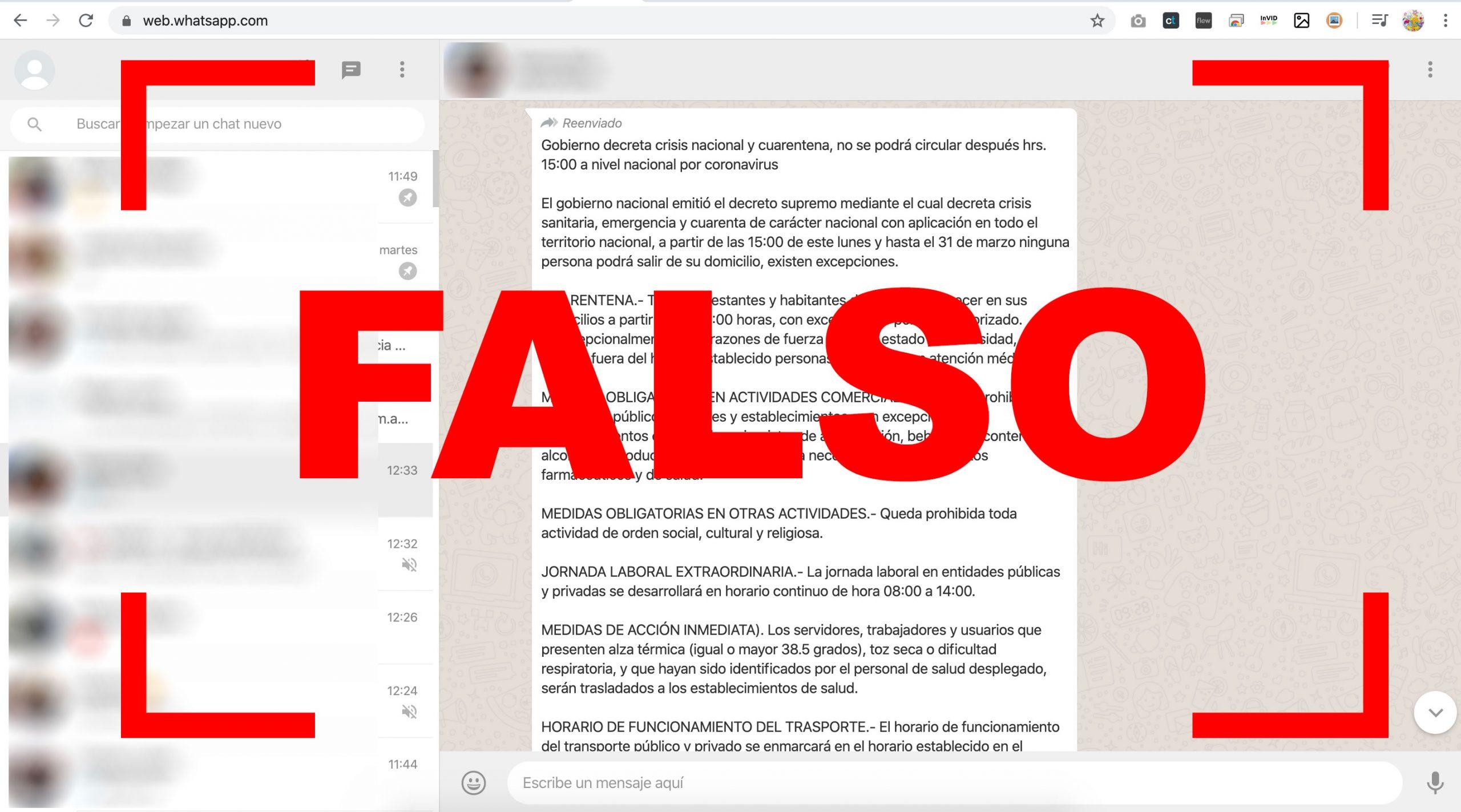 Advierten desde el Gobierno sobre un falso texto de decreto que está circulando