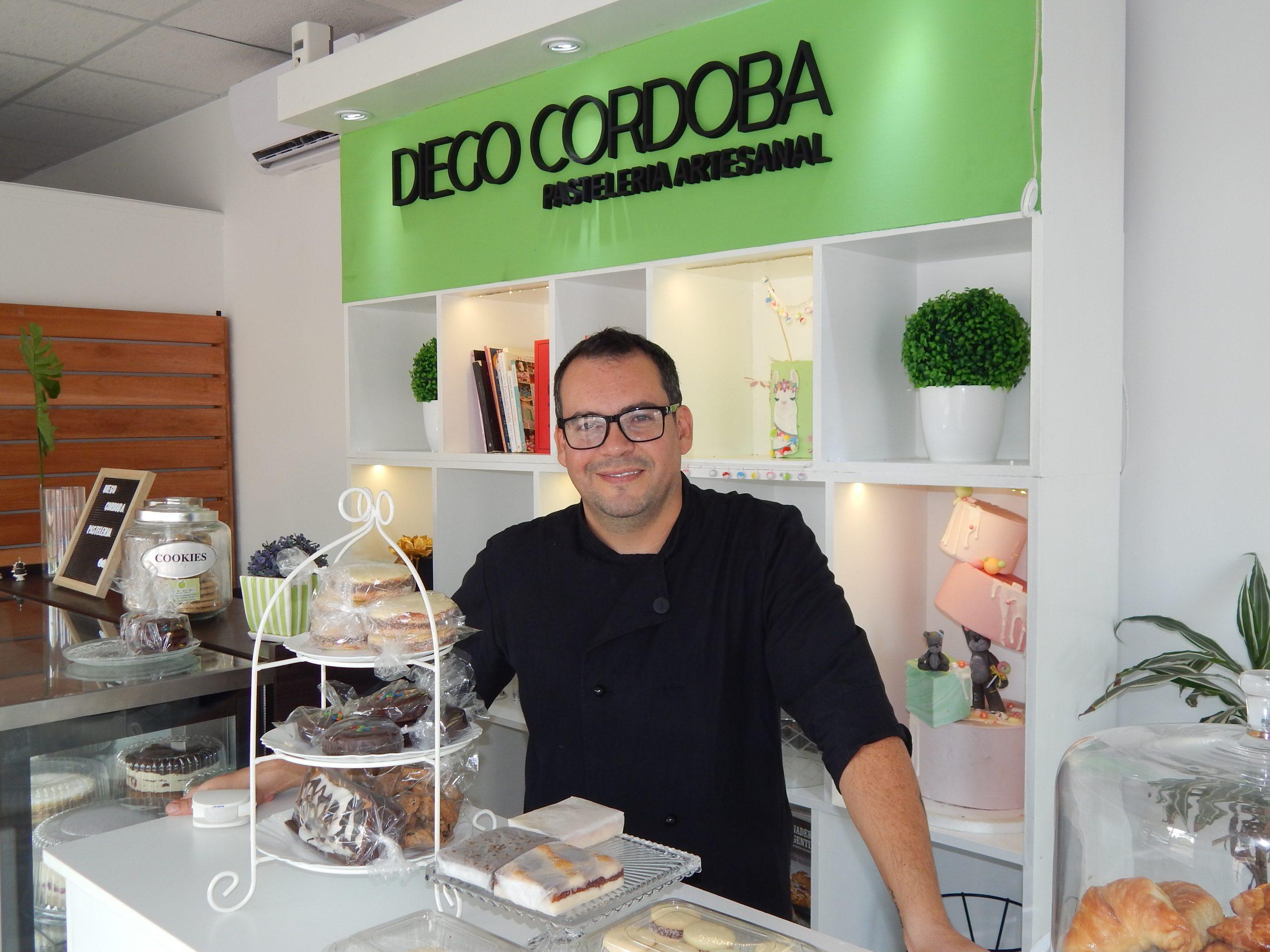 """Diego Córdoba y la pasión por la pastelería artesanal: """"todo es aprendizaje y crecimiento"""""""