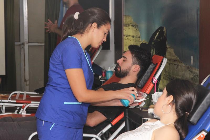 Casa de La Pampa participó de una campaña de donación de sangre para los chicos del Garrahan