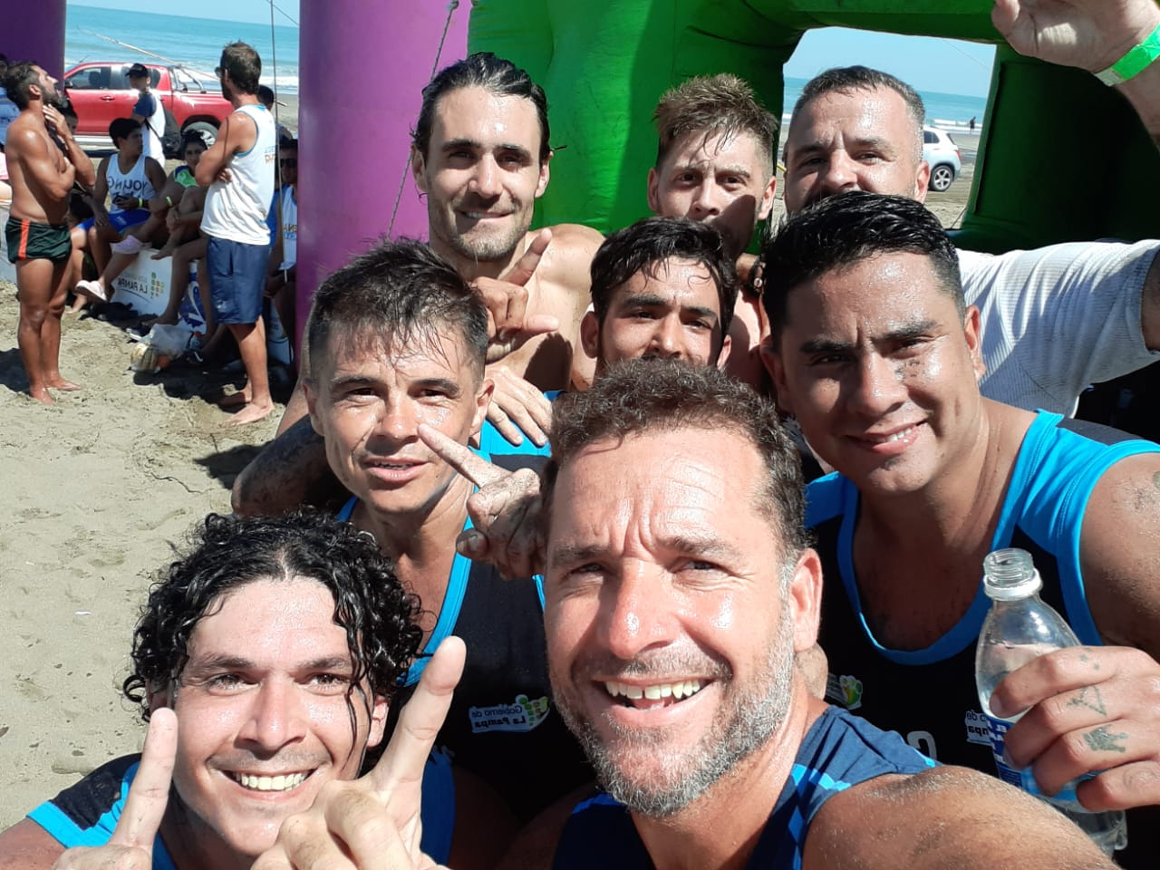 La Pampa se consagró campeona en el Patagónico de Fútbol Playa de Pehuen Có