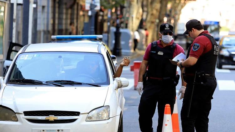 Primer caso de un policía de Capital Federal con coronavirus: hacía servicio de calle en el barrio de Caballito