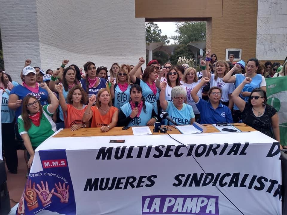 La Multisectorial de Mujeres Sindicalistas de La Pampa solicitó que se mantengan los puestos laborales ante esta emergencia sanitaria