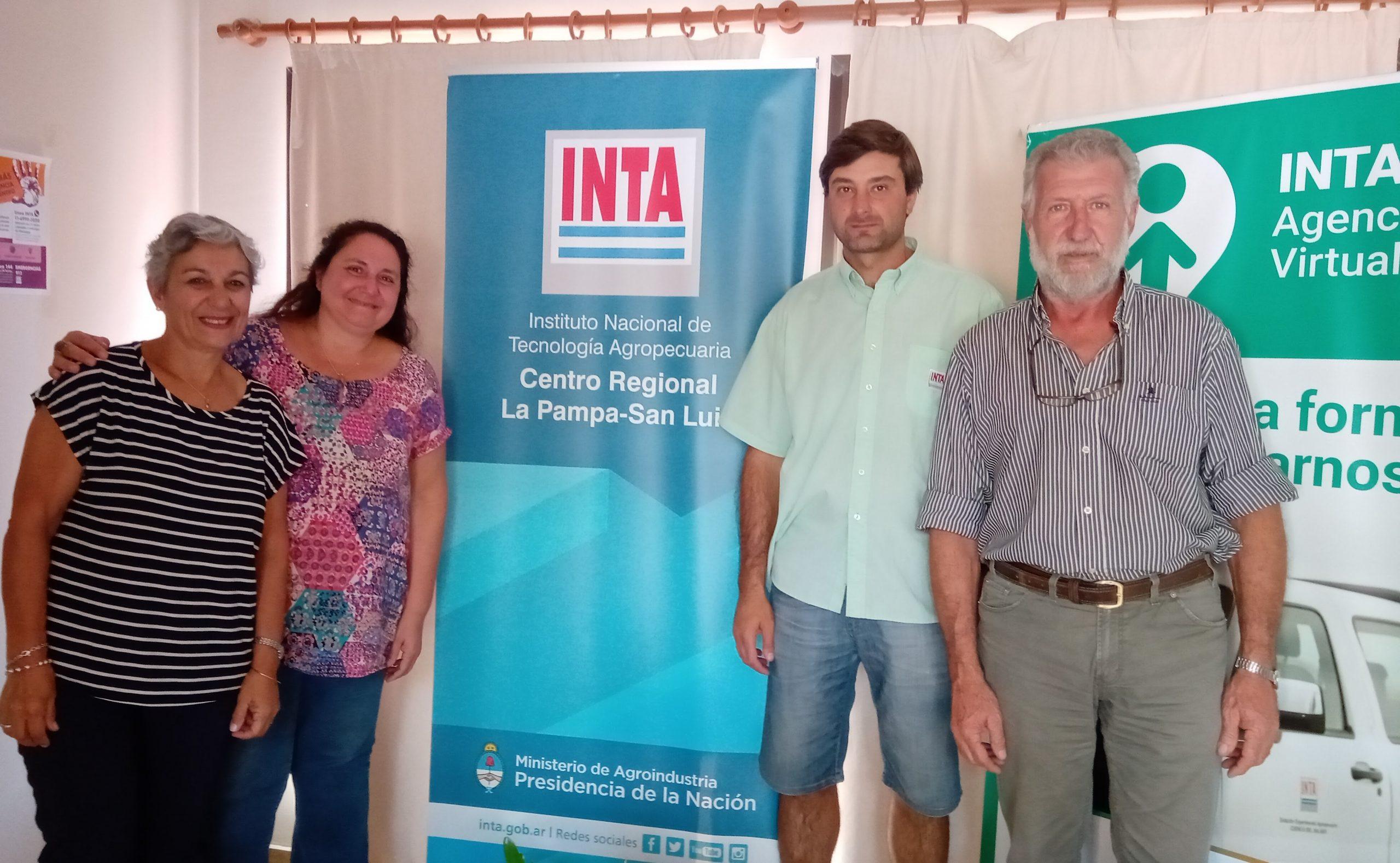 El RENATRE y el INTA arman un plan de capacitaciones sobre la actividad ganadera en La Pampa