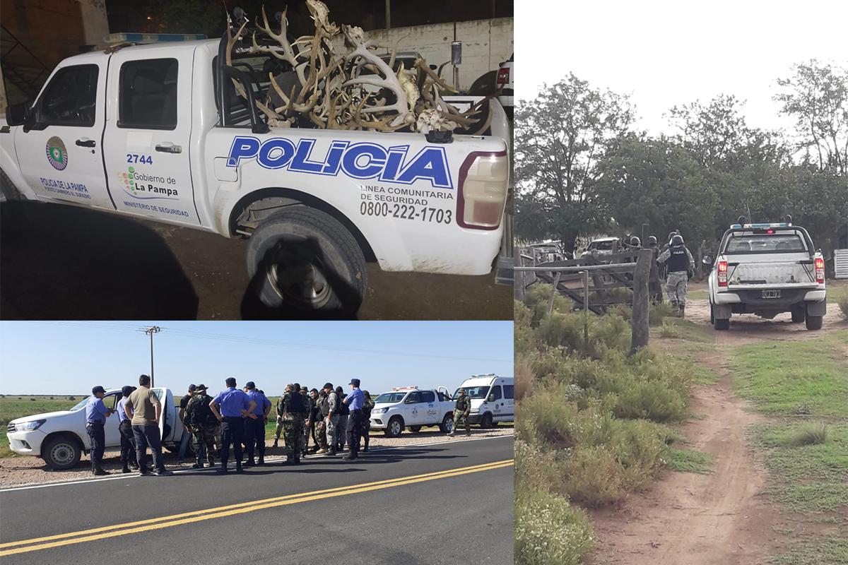 Seguimos sin tomar conciencia: Detienen 9 cazadores pampeanos en la zona de Victorica, secuestran armas y animales