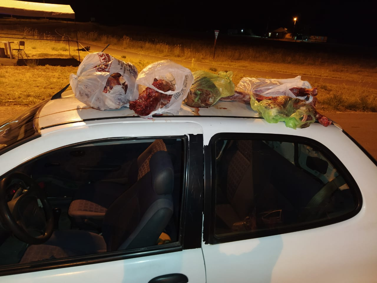 Secuestran un arma de fuego y carne de animales silvestres en el Puesto Caminero El Durazno