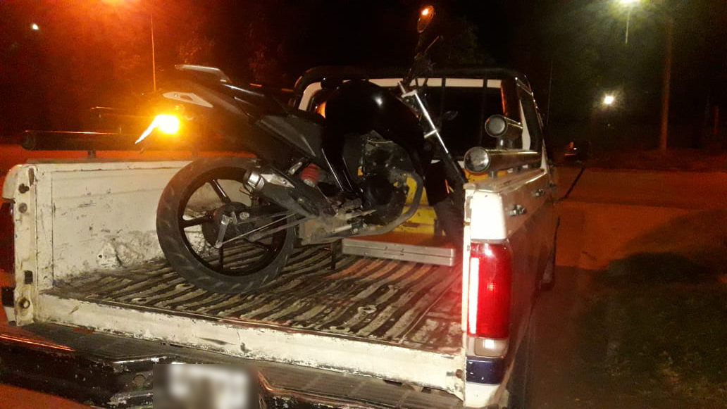 La Brigada logró recuperar una moto que había sido robada en la madrugada de ayer