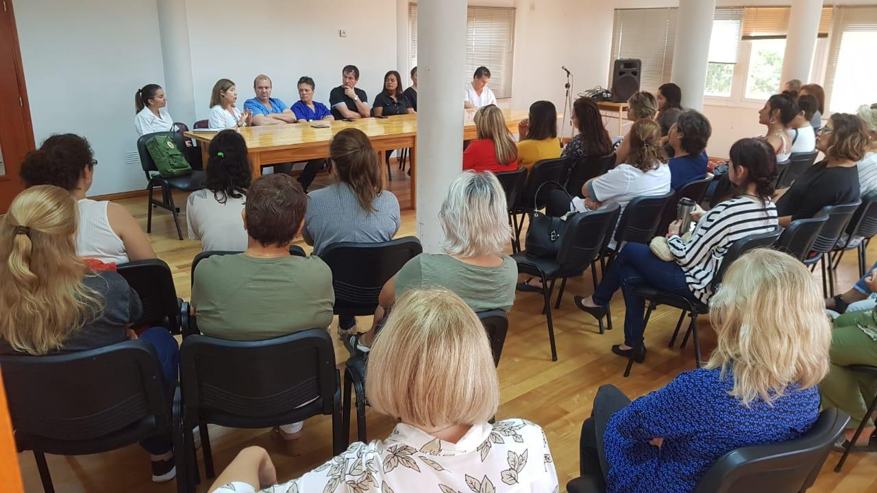 Comité de Epidemiología del Hospital Gobernador Centeno se reunió en con entidades que trabajan con la tercera edad