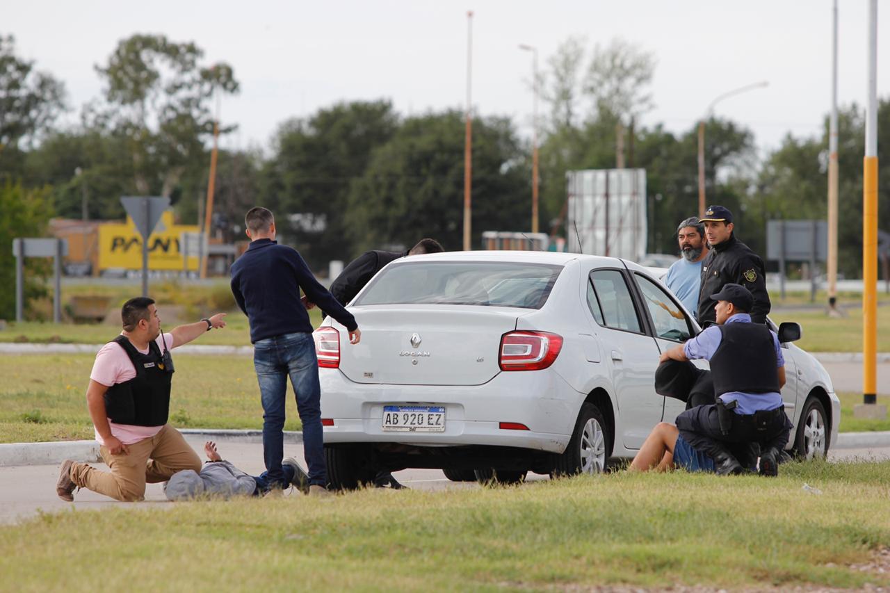 Detienen a dos delincuentes del conurbano bonaerense que habían realizado un secuestro extorsivo a un vecino de General Pico
