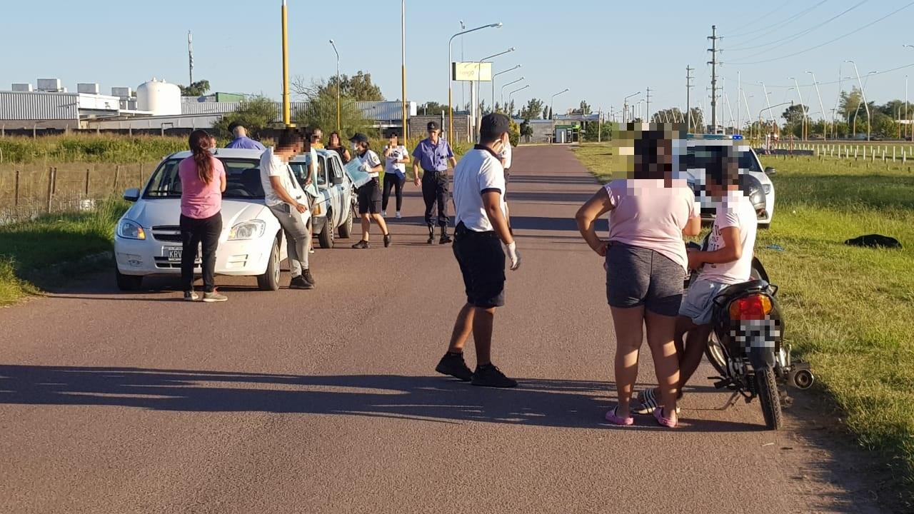 La policía demoró un total de 41 personas en el día de ayer y un automovilista dio 2,33 g/l en el control de alcoholemia