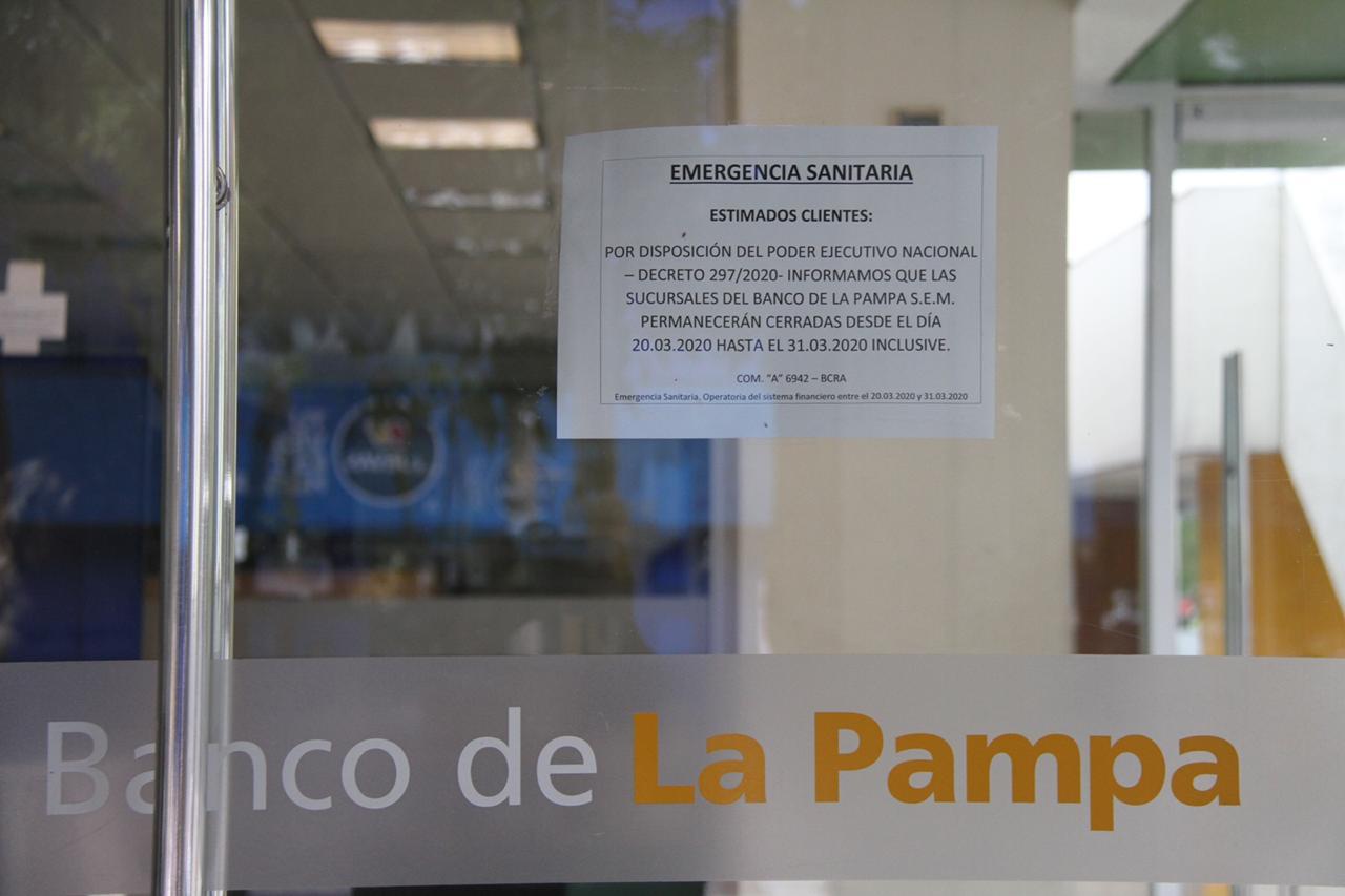Los bancos seguirán cerrados para prevenir la salud de los trabajadores y clientes