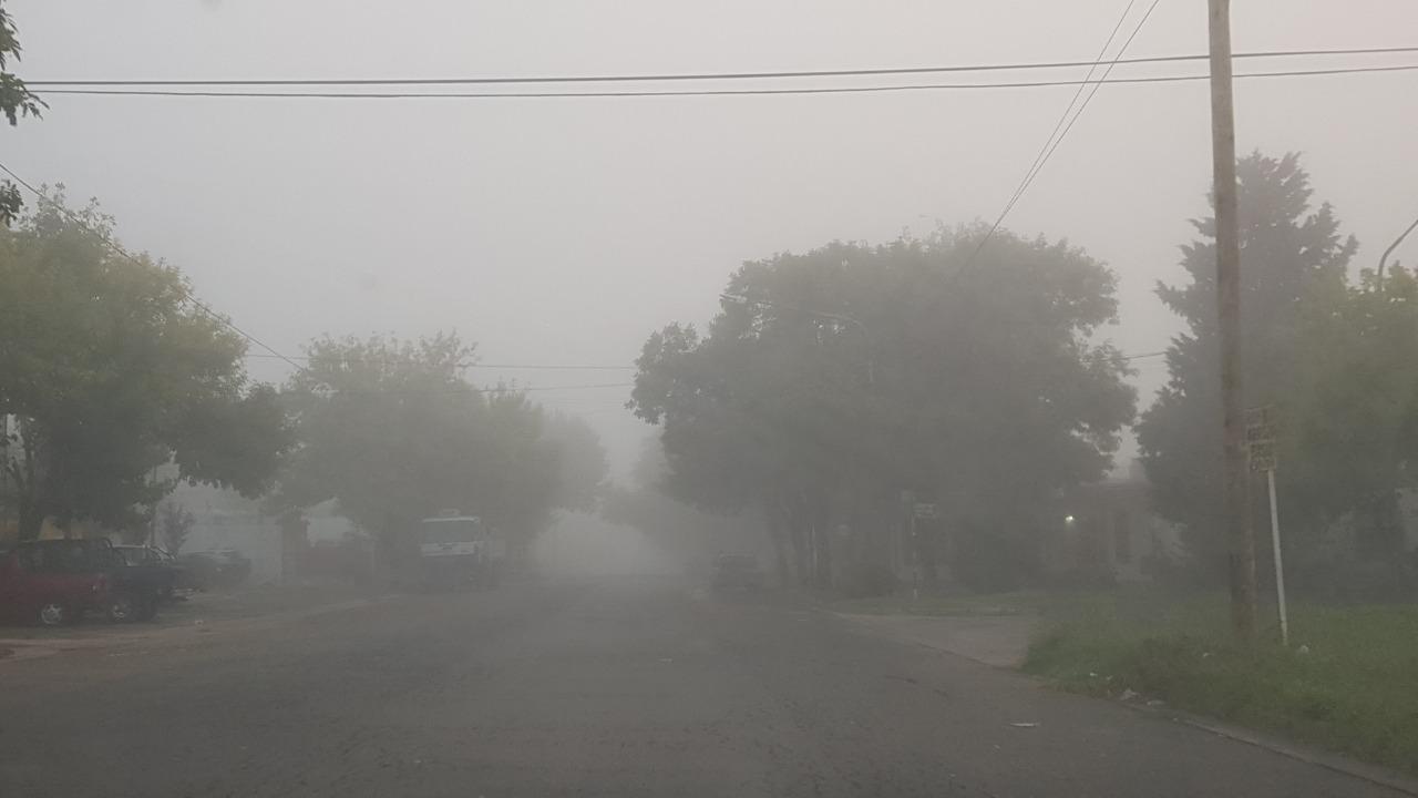 La zona este de La Pampa continuará afectada por neblinas y bancos de niebla