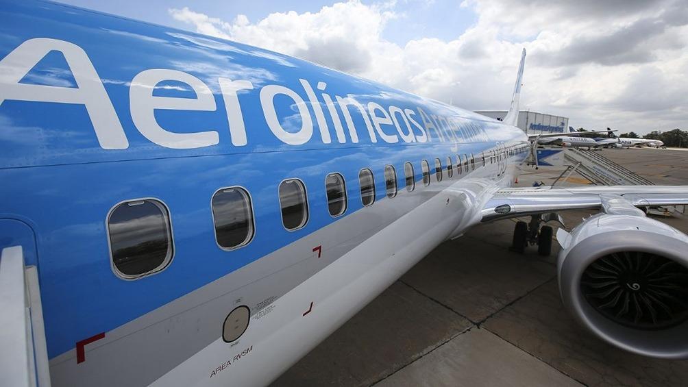 Aerolíneas Argentinas cancela desde mañana todas sus operaciones especiales de cabotaje