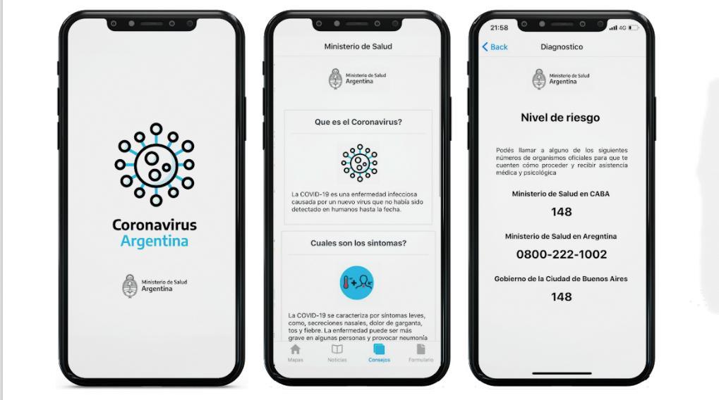 """El Gobierno lanzó una app para hacerse un """"autotest"""" de Coronavirus: Mirá cómo se usa"""