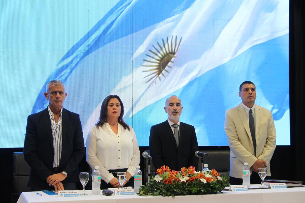 Alonso enumeró las obras que se ejecutarán en  General Pico y la iniciación del Polo Tecnológico