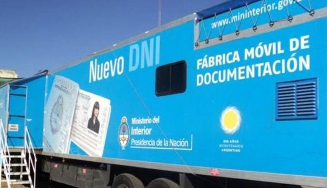 El camión fábrica de DNI llega a General Pico y Santa Rosa