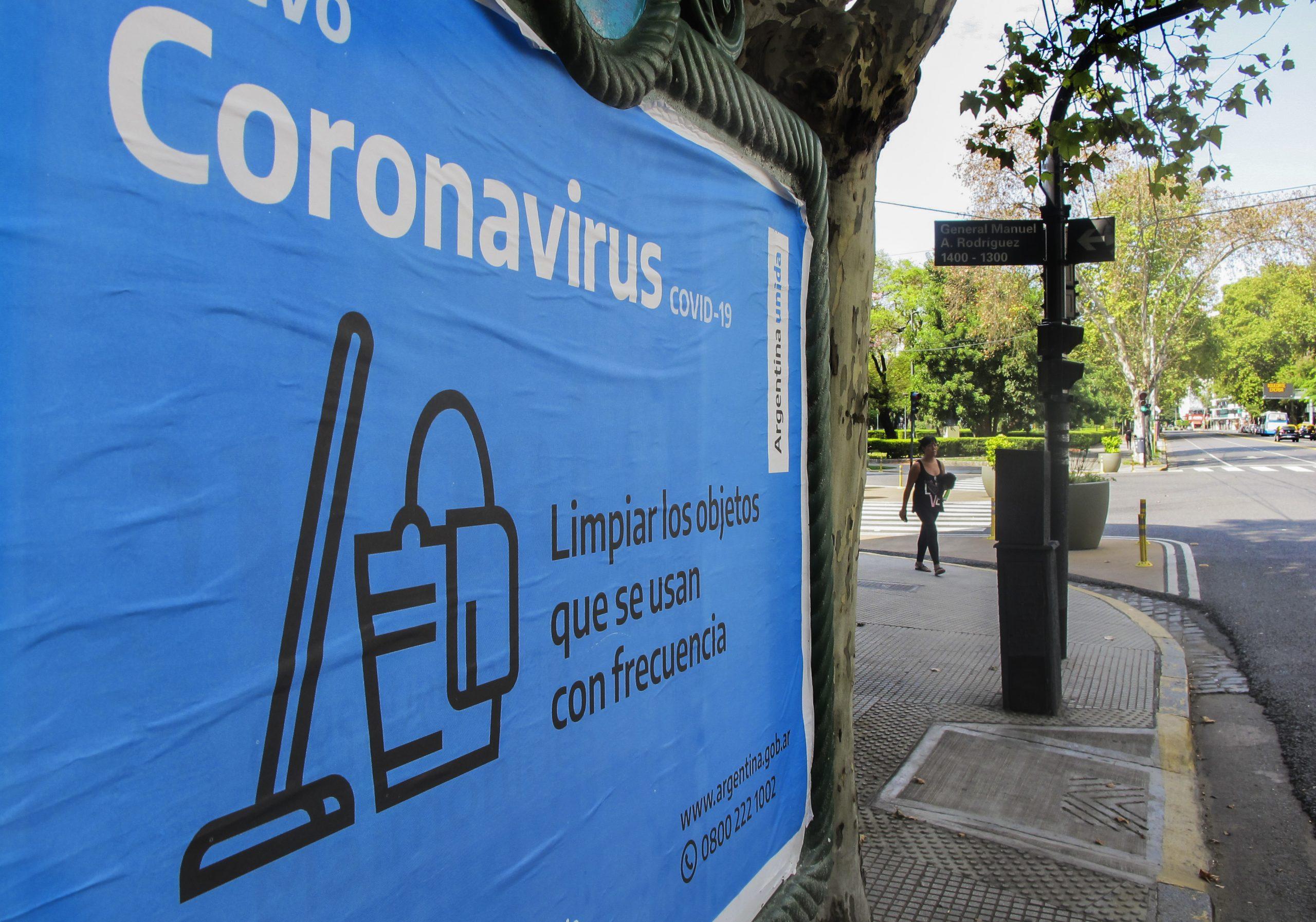 Hay 44 personas internadas en terapia intensiva por coronavirus y ya se descartaron 32.000 casos de la enfermedad