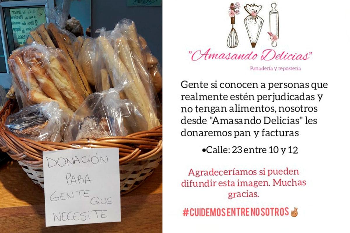 ¡Una hermosa iniciativa solidaria!: Una panadería piquense donará pan y facturas para todo aquel que verdaderamente lo necesite