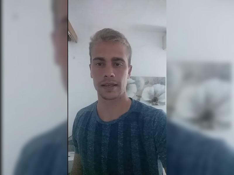 """Desde Malta, el piquense Federico Vasilchik alentó a todos a """"aguantar un poco más"""" y a """"quedarse en casa"""""""