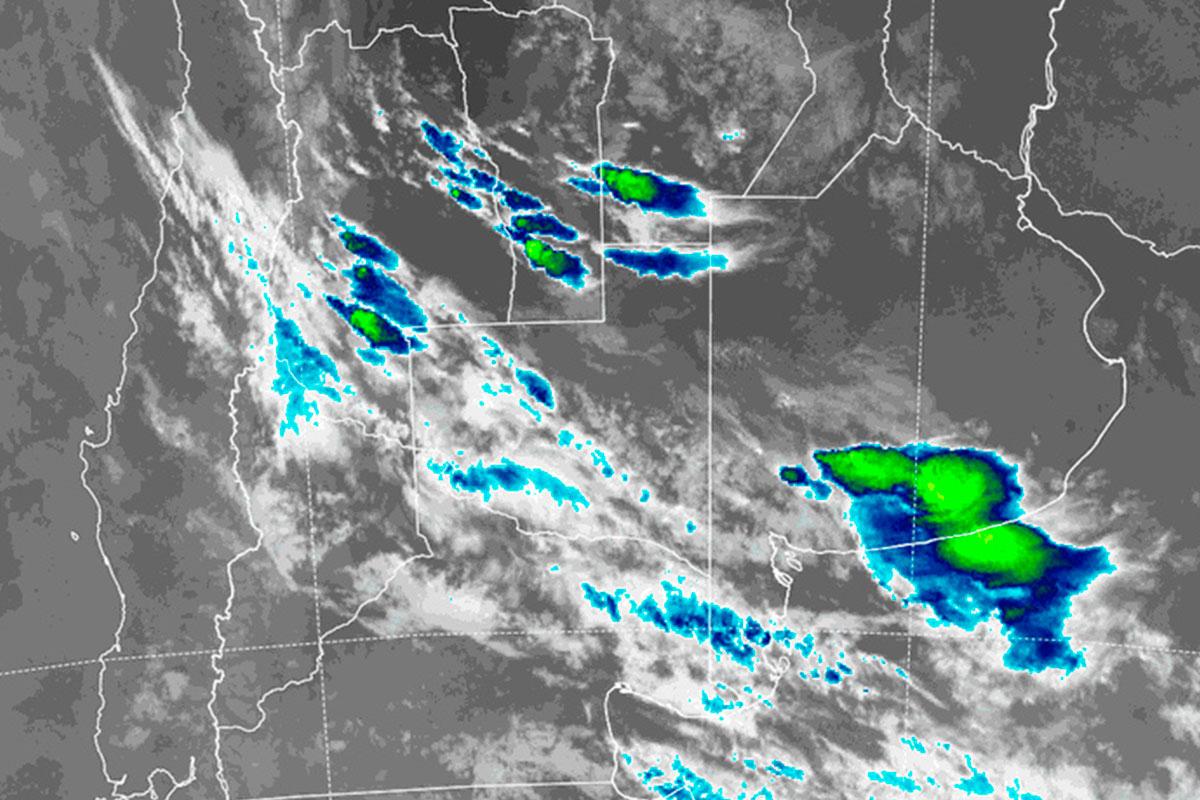 La Pampa en alerta meteorológico por «probables tormentas fuertes»