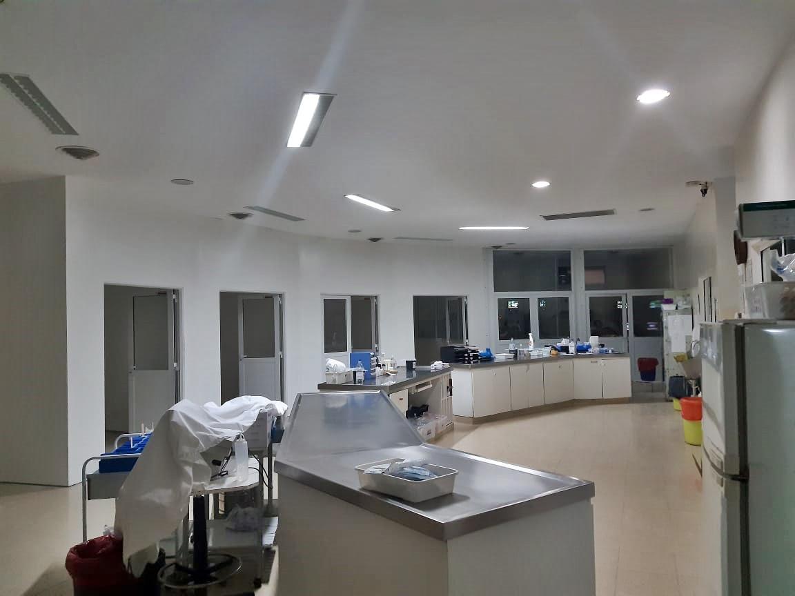 """""""Estamos preparando todo para ofrecer la mejor atención tanto en lo profesional, como en infraestructura"""", dijo Roberto Bertone director asociado del  Hospital Gobernador Centeno"""