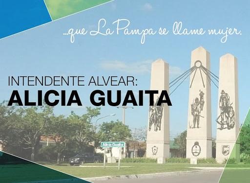 """""""La Pampa con nombre de mujer"""": Alvear se llamará Alicia Guaita"""