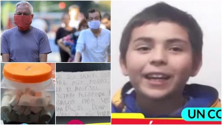Tiene 8 años y donó todos sus ahorros para el Hospital del pueblo