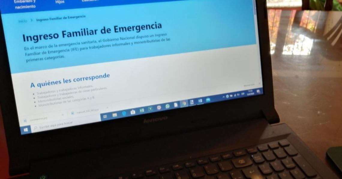 En La Pampa, 52.337 personas recibirán el Ingreso Familiar de Emergencia