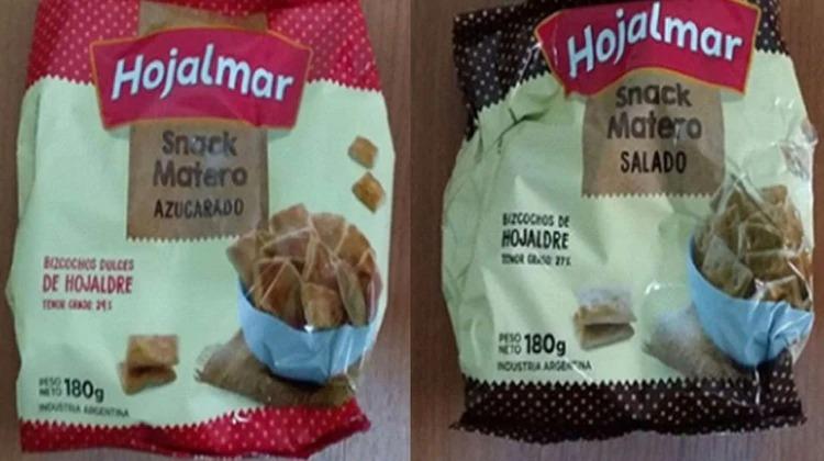 La ANMAT prohibió la comercialización de dos clases de bizcochos de primera marca