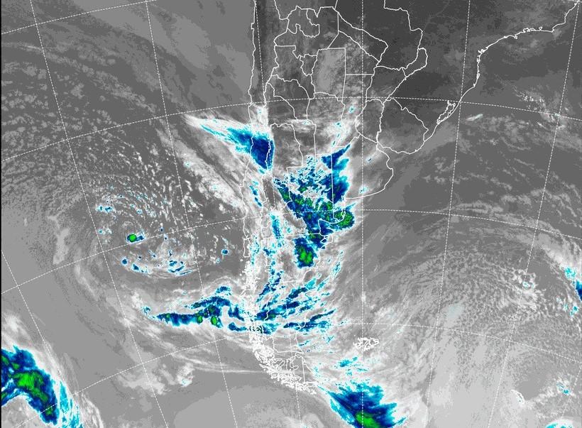 El centro y sur de La Pampa bajo alerta meteorológico por tormentas fuertes