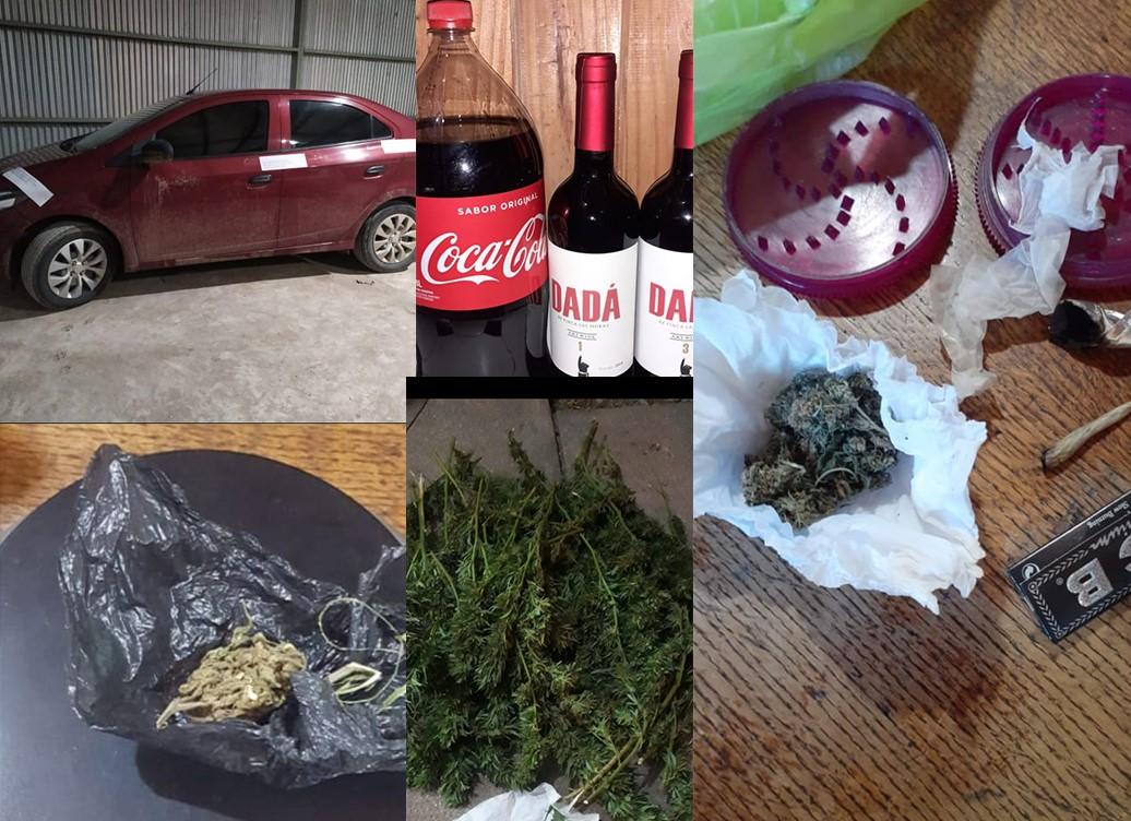 Eduardo Castex: 26 detenidos por violar la cuarentena y en algunos casos por posesión de estupefacientes y bebidas alcohólicas