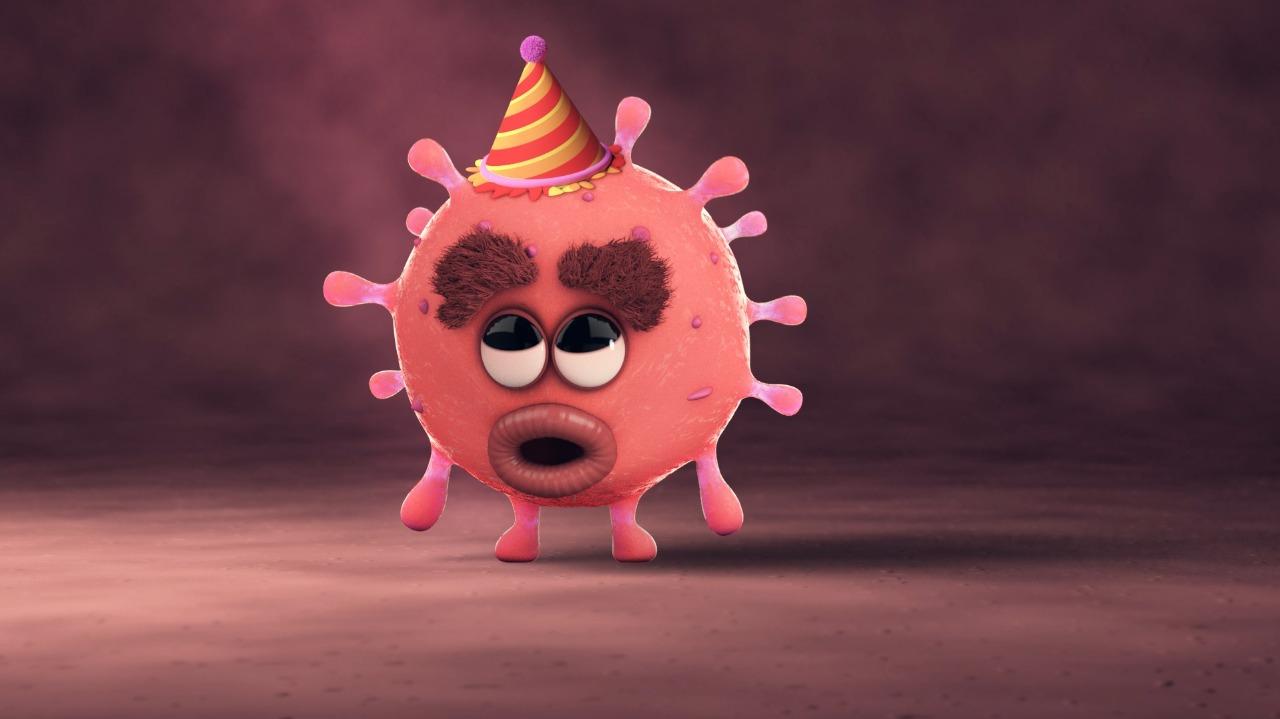 Un animador creó en General Pico un hermoso corto para explicarle a los niños cómo cuidarse del Coronavirus y fue compartido hasta por UNICEF