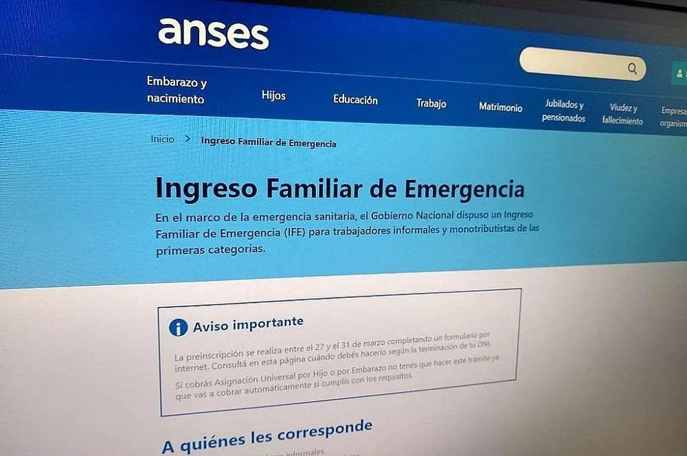 ANSES comienza a pagar el IFE y AUH: Mirá cuándo cobrás