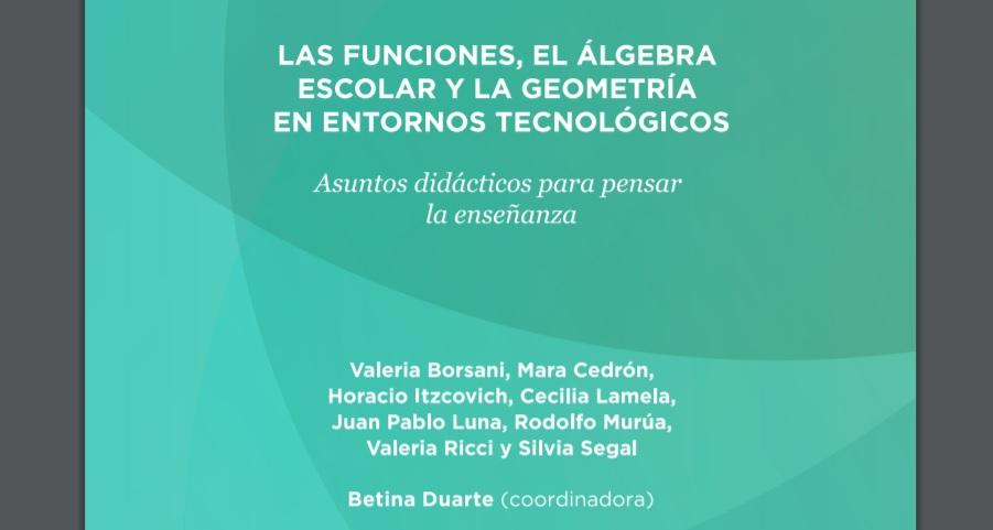 El Ministerio de Educación de La Pampa comparte un libro de matemática para enseñar en las escuelas secundarias