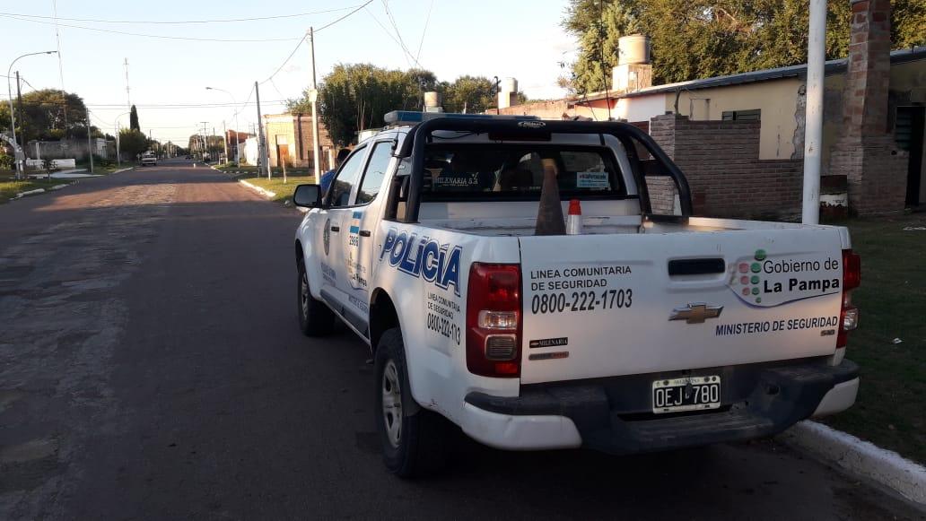 Victorica: Delincuentes ingresaron a robar a una casa e hirieron al hijo de la propietaria y le mataron al perro