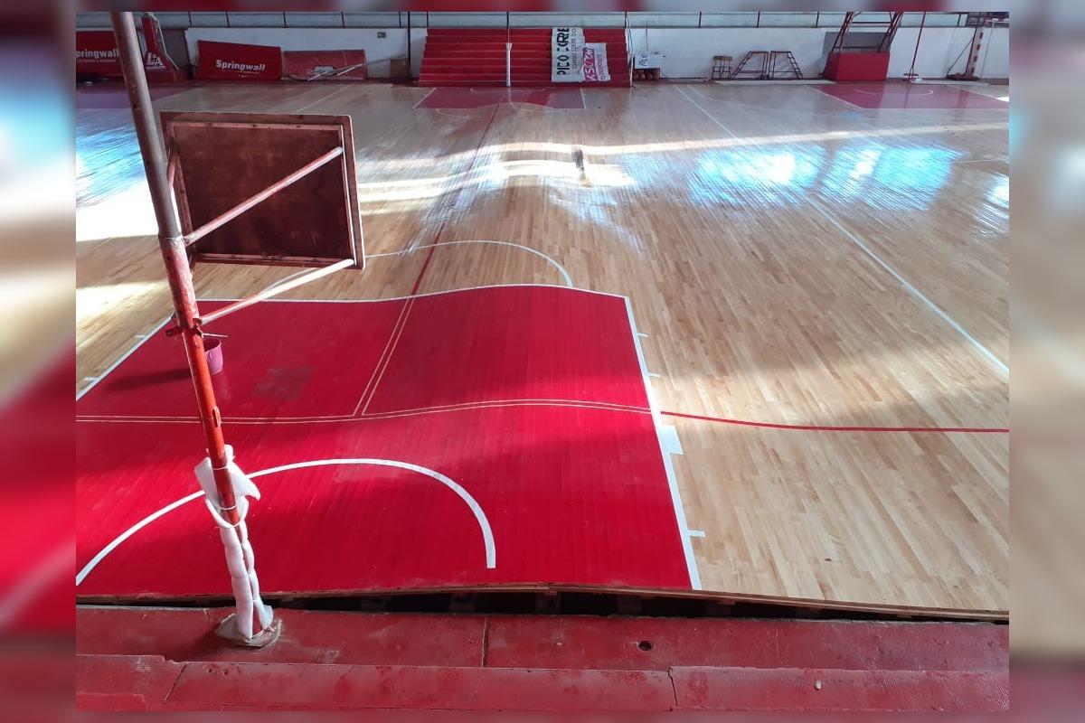 """La institución """"roja"""" sigue trabajando: """"todo tiene solución y queremos llevar tranquilidad a la gente"""", dijo Damián Brum, presidente del club"""