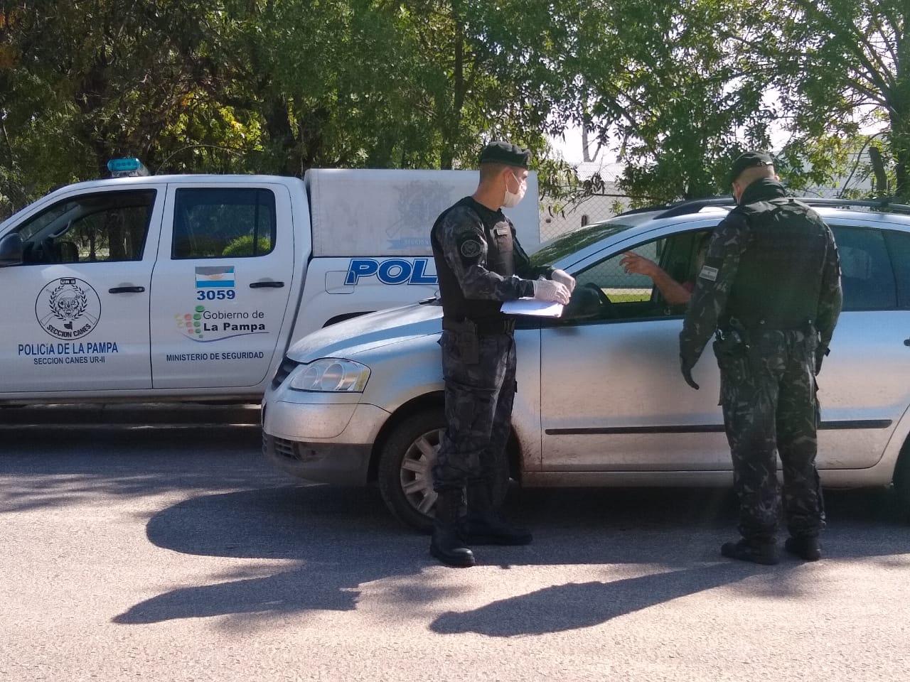 Cuarentena: disminuyeron los detenidos en comisarías del interior y aumentaron en General Pico