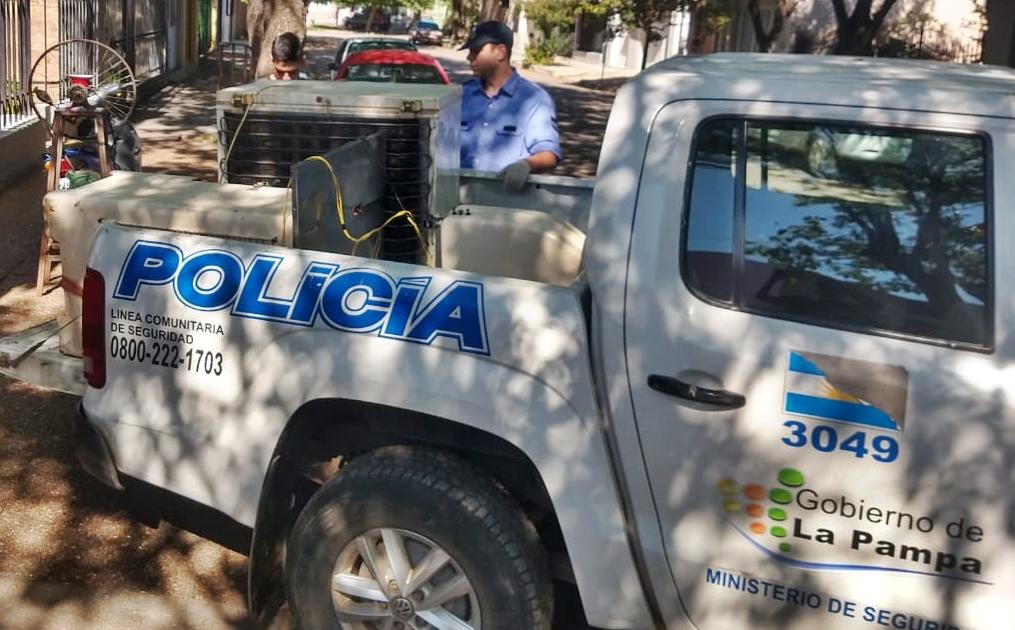 Faenaron tres animales: Hay dos personas detenidas y secuestraron un vehículo