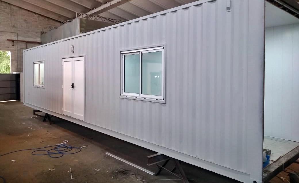 En 10 días comenzarán a colocar los contenedores que servirán de unidades hospitalarias alternas en el Gobernador Centeno