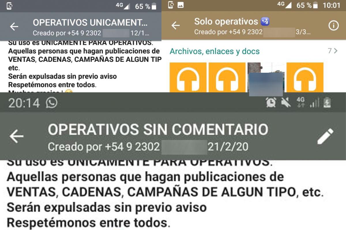 General Pico: formalizaron y liberaron a quien administraba 3 grupos de whatsapp donde se avisaba de los operativos policiales