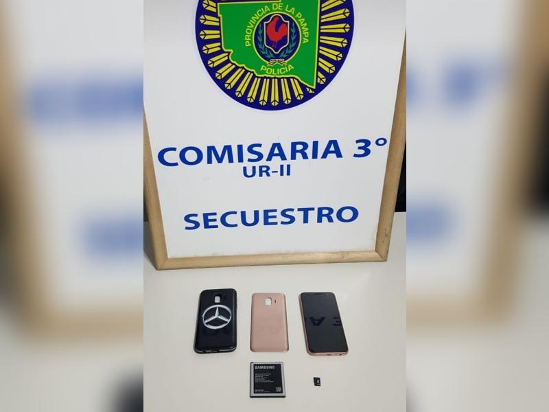 Detuvieron a un hombre que robó un celular en el barrio Malvinas