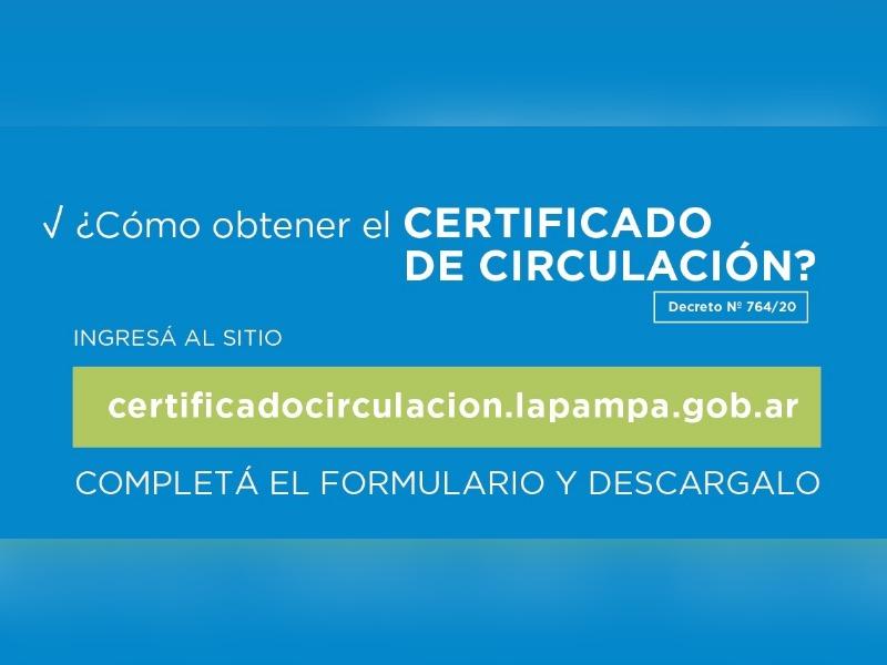 Mirá cómo se tramita el permiso de circulación para empleadas domésticas, comerciantes y nuevos exceptuados en La Pampa