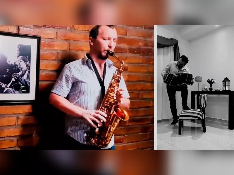 """El músico Matías Rach presentó el Proyecto Mumuki, donde brindarán conciertos virtuales durante la cuarentena: """"Es la primera vez que en General Pico se hace algo así"""""""