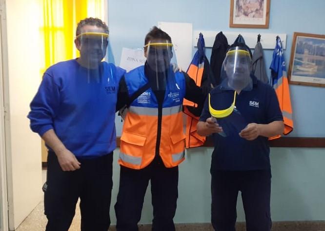 Un grupo de vecinos piquenses planean donar más de 400 máscaras, todas destinadas al sector de salud y de seguridad