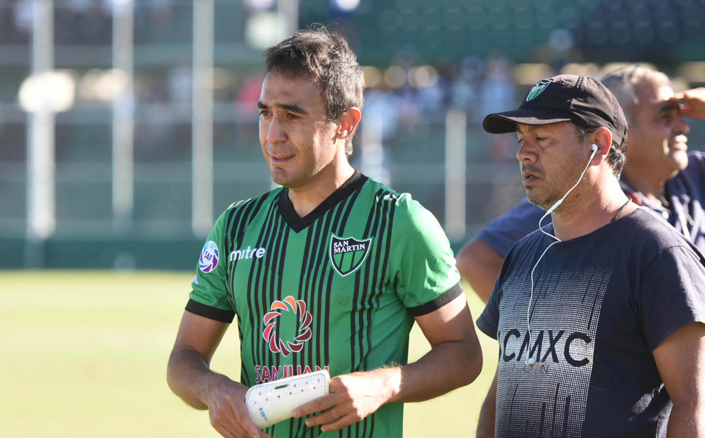 """El piquense Marcos Gelabert y su futuro en San Martín: """"Se me termina el contrato y es tristísimo no despedirme dentro de una cancha"""""""