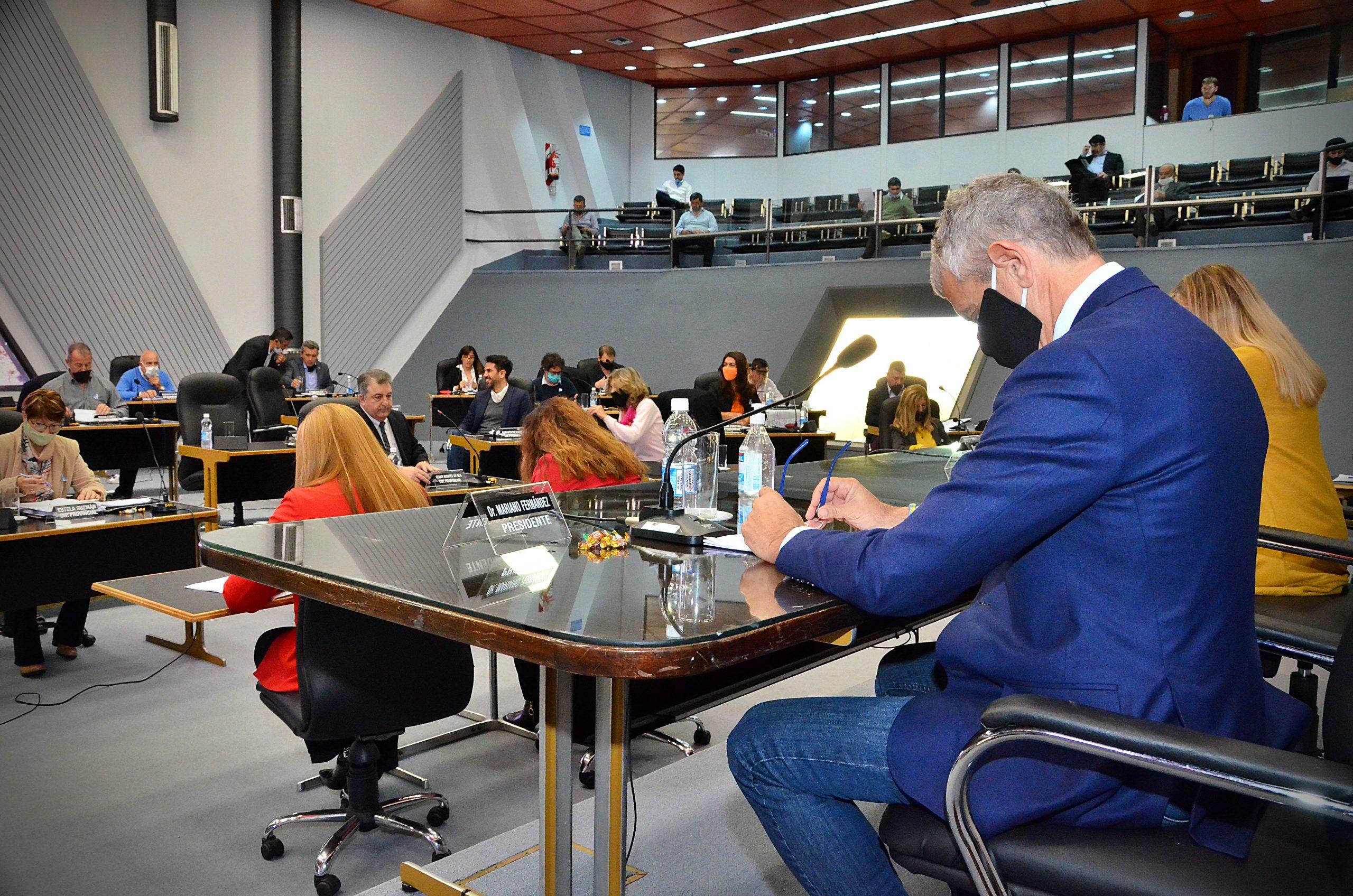 La Cámara de Diputados aprobó los proyectos que ratifican los decretos de Ziliotto por la pandemia de Coronavirus