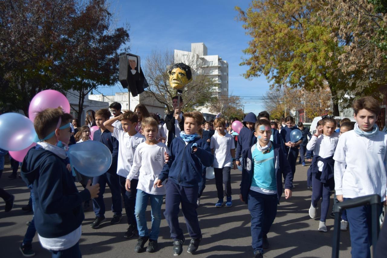 """El Colegio Santa Inés celebra el Día de María Auxiliadora con una emotiva """"peregrinación virtual"""""""