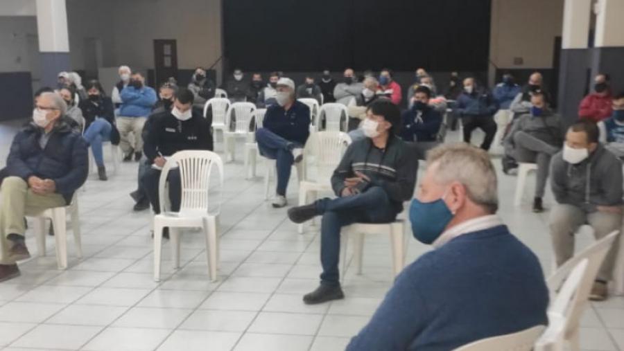 """El plan de """"detección activa"""" de Coronavirus en La Pampa empezó en General Campos: Se hicieron siete hisopados"""